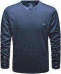Schöffel Merino Sport Shirt 1/1 Arm M Funktionsunterwäsche Herren blau Gr. S