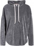 SHORT STORIES Lounge-Hoodie aus Samt