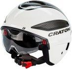 Cratoni Vigor S-Pedalec Helm weiß/anthrazit glanz L   58-59cm 2020 Fahrradhelme