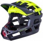 Kali Invader SLD Helm matt fluo yellow/black 50-59cm 2020 Fahrradhelme, Gr. 50-5