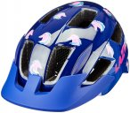 Lazer Lil Gekko Helm mit Insektenschutznetz Kinder blau/bunt One Size   46-50cm