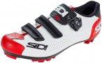 Sidi MTB Trace 2 Schuhe Herren white/black/red EU 39 2021 Fahrradschuhe, Gr. EU