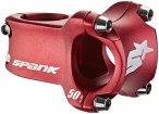 Spank Spike Race 2.0 Vorbau Ø31,8mm Shotpeen red 50mm 2021 Dirt & BMX Vorbauten