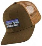Patagonia P-6 Logo Trucker Cap braun