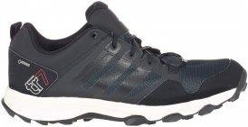Adidas Kanadia 7 TR GTX Männer Gr. 9½ - Trailrunningschuhe - grau|schwarz|weiß