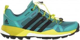 Adidas Terrex Skychaser GTX Frauen Gr. 5 - Trailrunningschuhe - grün|schwarz|gelb