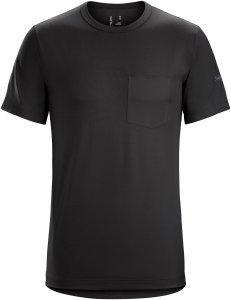 Arc'teryx Anzo T-Shirt Männer Gr. S - Funktionsshirt - schwarz
