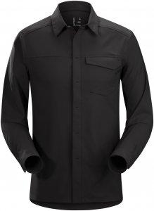 Arc'teryx Skyline LS Shirt Männer Gr. XL - Outdoor Hemd - schwarz