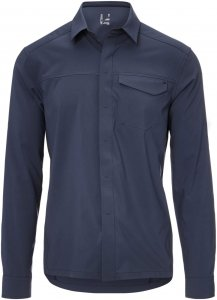 Arc'teryx Skyline LS Shirt Männer Gr. L - Outdoor Hemd - schwarz|blau