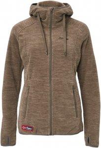 Bergans Hareid Jacket Frauen Gr. M - Fleecejacke - braun
