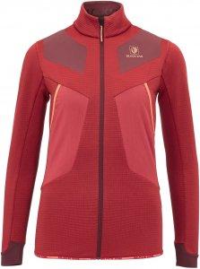 BlackYak Combat Shirt-Jacket Frauen Gr. XS - Fleecejacke - rot|rotbraun