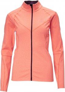 BlackYak Medium Weight Stretch Fleece Frauen Gr. S - Fleecejacke - orange|pink-rosa