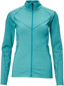 BlackYak Medium Weight Stretch Fleece Frauen Gr. L - Fleecejacke - petrol-türkis