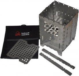 Bushcraft Essentials Bushbox XL Profi Set - Hobokocher - grau