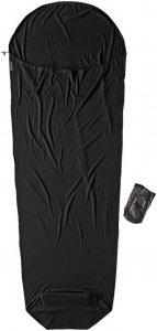 Cocoon Merino Wool Mummy Liner - Schlafsack Inlett - black / schwarz