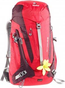 Deuter ACT Trail 28 SL Frauen - Tagesrucksack - rot / fire|aubergine
