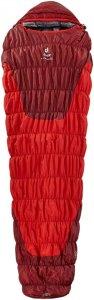 Deuter Exosphere -4° - Kunstfaserschlafsack - Gr. Large - rotbraun|rot - 3-Jahreszeiten-Schlafsack