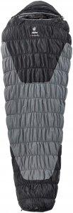 Deuter Exosphere -8° - Kunstfaserschlafsack - Gr. Large - grau|schwarz - 3-Jahreszeiten-Schlafsack