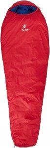 Deuter Orbit -5° - Kunstfaserschlafsack - Gr. Large - rot|blau - 3-Jahreszeiten-Schlafsack