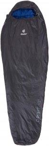 Deuter Orbit +5° - Kunstfaserschlafsack - Gr. Regular - schwarz|blau - 3-Jahreszeiten-Schlafsack