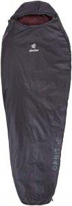 Deuter Orbit +5° - SL Frauen - Kunstfaserschlafsack - schwarz|rotbraun - 3-Jahreszeiten-Schlafsack