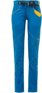 Direct Alpine Edge 1.0 Frauen Gr. L - Kletterhose - blau|gelb