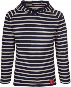 Elkline Crew Kinder Gr. 140/146 - Langarmshirt - blau|weiß