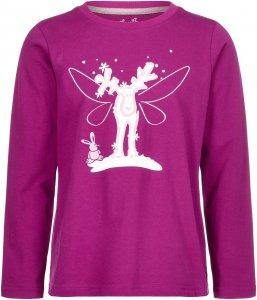 Elkline Elfchen Kinder Gr. 104/110 - Langarmshirt - pink-rosa