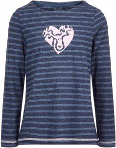 Elkline Hummelchen Kinder Gr. 116/122 - Langarmshirt - blau