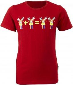 Elkline I-Mädchen Kinder Gr. 116/122 - T-Shirt - rot
