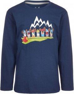 Elkline Siebenelche Kinder Gr. 92/98 - Langarmshirt - blau