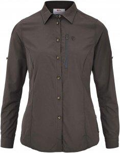 Fjällräven Abisko Hike Shirt LS Frauen Gr. M - Outdoor Bluse - grau