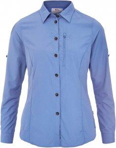 Fjällräven Abisko Hike Shirt LS Frauen Gr. S - Outdoor Bluse - blau