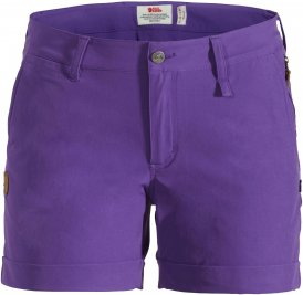 Fjällräven Abisko Stretch Short W Frauen Gr. 46 - Shorts - lila