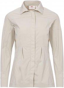 Fjällräven Abisko Sun Shirt LS Frauen Gr. XS - Outdoor Bluse - beige-sand