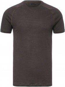 Fjällräven Abisko Trail T-shirt Männer Gr. M - Funktionsshirt - schwarz grau