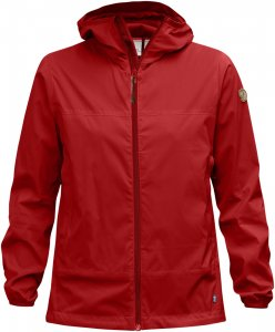 Fjällräven Abiskoindbreaker Jacket Frauen Gr. M - Windbreaker - rot