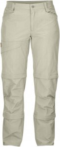 Fjällräven Daloa MT 3 Stage Zip Off Trousers Frauen Gr. 36 - Reisehose - grau