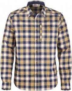 Fjällräven Fjällglim Shirt Männer Gr. S - Outdoor Hemd - blau