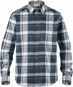 Fjällräven Fjällglim Shirt Männer Gr. S - Outdoor Hemd - blau|blau