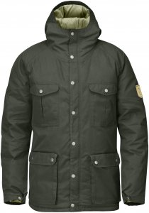 Fjällräven Greenland Down Jacket Männer Gr. XL - Daunenjacke - oliv-dunkelgrün