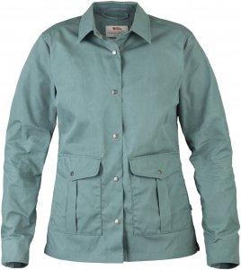 Fjällräven Greenland Shirt Jacket Frauen Gr. S - Übergangsjacke - grün blau