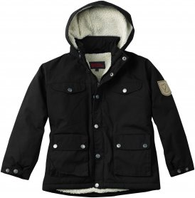 Fjällräven Greenland Winter Jacke Kinder Gr. 116 - Winterjacke - schwarz
