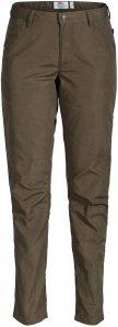 Fjällräven High Coast Fall Trousers Frauen Gr. 38 - Trekkinghose - braun oliv-dunkelgrün