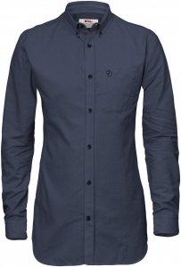 Fjällräven High Coast Flannel S Frauen Gr. L - Outdoor Bluse - blau