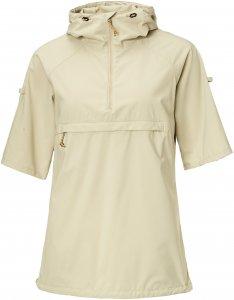 Fjällräven High Coast Hooded Shirt SS Frauen Gr. XS - Funktionsshirt - beige-sand