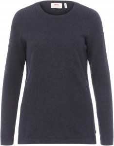 Fjällräven High Coast Knit Sweater Frauen Gr. L - Sweatshirt - blau