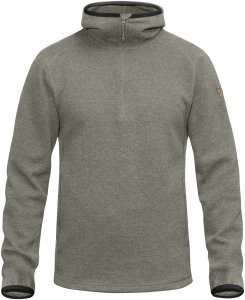 Fjällräven High Coast Wool Hoodie Männer Gr. XL - Wollpullover - grau