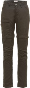 Fjällräven High Coast Zip-Off Trousers Frauen Gr. 36 - Trekkinghose - grau