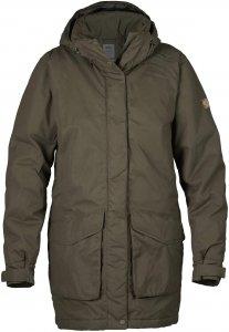 Fjällräven Högvilt Jacket Frauen Gr. L - Winterjacke - oliv-dunkelgrün|braun